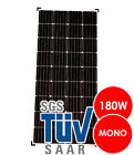 Solarmodul Solarpanel Solarzelle 50 80 100 130 140 150 160 165 180 Watt Mono <br/> ⭐⭐⭐⭐⭐ inkl. Solar-Stecker Kabel✔️ Silizium✔️ 50-180W✔️