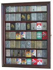 56 Sport Zippo Lighter Display Case Wall Cabinet Glass Door LC04-MA