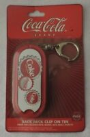 Coca-Cola Collectible Back Pack Clip-on Tin