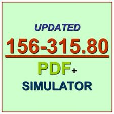 Check Point Certified Security Expert CCSE R80 Test 156-315.80 Exam QA PDF+SIM