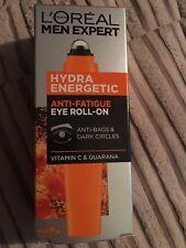 L'oreal Men Expert Hydra Energetic Eye Roll-On Anti Bags Dark Circles 10Ml