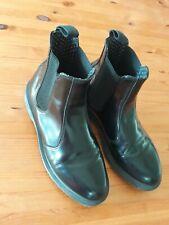Dr.  martens Size 6 Eu 39  Black Flora, Chelsea Style Air Cushion Soles  VGC