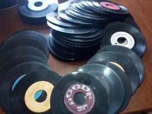 STOCK LOTTO 45 giri lotto stock 197 dischi affare vintage vinile