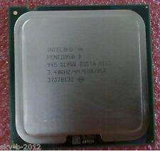 Intel Pentium D 945 3.4GHZ LGA775 SL9QB .SL9QQ Presler CPU Dual-Core  cpu