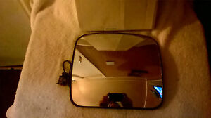 Mirror Glass Heated for Car wagon 24volt 20W  193 by 165mm R300  Item No 6465