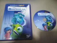 Monstres S.A DVD Disney Pixar