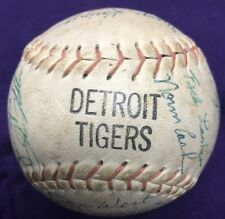 1968 Detroit Tigers World Series Signed Autographed Baseball AUTHENTIC