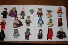 Lego Minifigures Lot of 19 Sought after Minifigures Ahsoka Tano Darth Vader+++
