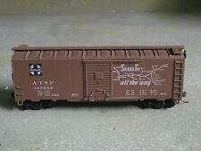 Atsf Atchison Topekea & Santa Fe Railway 40' Boxcar W/Kds Ho By Athearn #145386