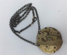 Original Beaucourt Pocket Watch Movement Steampunk Necklace 48cm