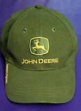 John Deere Tractor Owner's Edition Adjustable Green Ball Cap Hat Farmer Hat