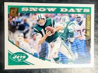 2018 JOE NAMATH 💥SNOW DAYS💥 Panini Donruss #SD-2 - ALABAMA/NEW YORK JETS (HOF)