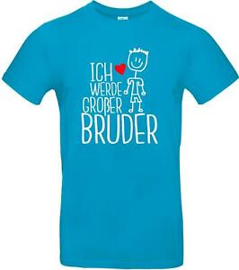 Kinder-Shirt Typo Ich werde großer Bruder