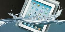 WATERPROOF CASE FOR iPAD KINDLE DOCUMENT BAG TRANSPARENT CLEAR TABLET DIRT PROOF