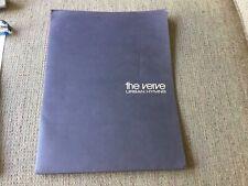 The Verve Press Kit Richard Ashcroft Bios Glossy Photos Urban Hymns