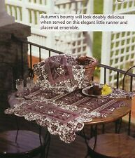 Chelsea Fair Table Setting Quilt Pattern Pieced Mc