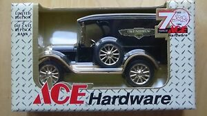 ERTL Ace Hardware 70th 1923 Chevy Delivery Van Die Cast Locking Bank B385 NEW