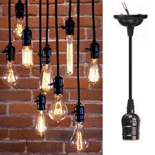 Lampenaufhängung E27 Lampenfassung Deckenbefestigung Halterung mit Kabel