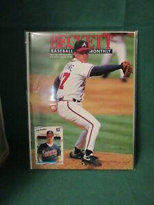 November 1992 - Beckett Baseball Monthly - Tom Glavine