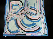 """NEW EMILIO PUCCI 100% SILK SCARF 34""""x34"""" MADE IN ITALY"""