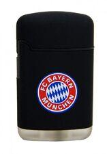 LICENSED FC BAYERN MUNICH MÜNCHEN EASY TORCH RUBBER W. LOGO LIGHTER /BLACK *NEW*