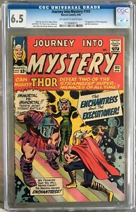 Journey into Mystery #103 (1964) CGC 6.5 -- 1st Enchantress and Executioner