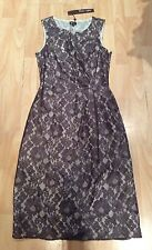 PHASE EIGHT Ladies sz  8-10  Beige Lace Dress  SUMMER BNWT