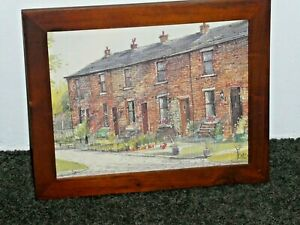 2 Storey Red Brick Homes England by A Ford Framed Photo Print Frame 29.5x24.5cm