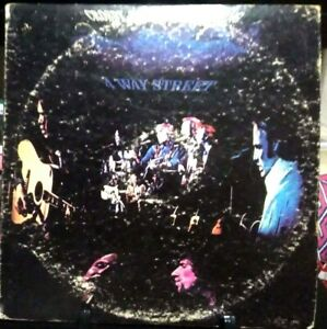 CROSBY, STILLS, NASH & YOUNG 4-Way Street Double Live Album Released 1971 USA