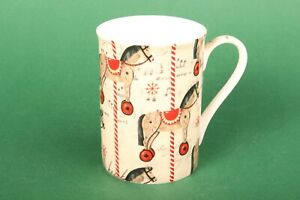 """IHR Henkelbecher """"Carousel Horse"""" Porzellan Weihnachten Geschenk X-Mas Pferd"""