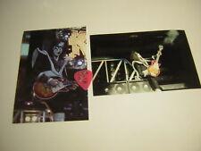 KISS ACE FREHLEY GUITAR PICK CITY CLEVELAND     5/5/2000  W/UNPUB.PHOTOS