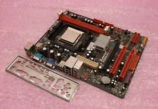 Biostar N68S3+ VGA Socket AM2+ AM3 DDR3 PCI-E PCI Motherboard, Backplate and CPU