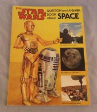 THE STAR WARS QUESTION AND ANSWER BOOK ABOUT SPACE  BY DINAH L. MOCHE 1979