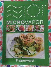 Tupperware - Recetario Microvapor, cocinar al vapor en el microondas