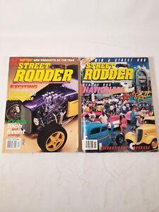 Lot of 2 1990 1995 Street rodder magazine Street rod nationals