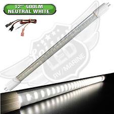 """12-30V DC LED F8T5 Tube Light Lamp Bulb 12"""" 1FT- 4W Neutral White for RV trailer"""