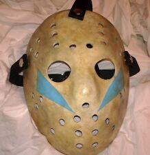 Jason Friday 13th 5 LIGHT BLUE Replica Hockey MASK HALLOWEEN Horror Movie Prop