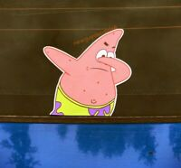 Evil Patrick Meme Sticker Decal Spongebob Funny Square Pants Starfish Crabby