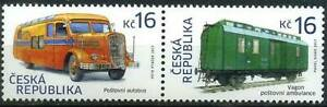 Czech Republic 2017 Transport, Bus, Railway, Carriage, Historical Vehicles MNH**