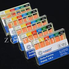 10 Boxes Dental Gapadant Gutta Percha Points #15-40 120pcs/box