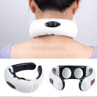 Back Neck Massager Care Electric Pulse  Cervical Vertebra Treatment Instrument