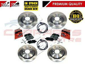 FOR LAND ROVER DISCOVERY 3 2.7 TDV6 04-09 FRONT AND REAR BRAKE DISC AND PAD KIT