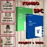 Visio/Project 2016/2019 + KOMBO, 1-5PC - 32&64 Bits - E-Mail Versand - Rechnung