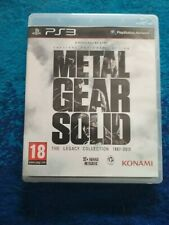 Lotto Metal Gear Solid The Legacy Collection 1987-2012