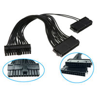 C41 24pin Dual PSU Mainboard Motherboard Netzteil PC Verlängerungskabel Adapter