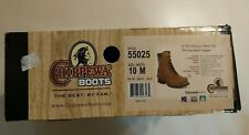 """Chippewa 8"""" Oblique Steel Toe Eh Logger Boots 10W Style 55025.Brand New W/Box!"""
