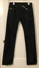 Diesel Safado Regular Slim Fit Straight Stretch Jeans Dark Blue W29 L34 NWT