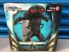 DC Comics Diamond Select Gallery Aquaman Black Manta PVC Statue Only At Gamestop