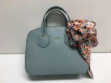 Furla AZZURRO Blue Leather Giada Satchel Handbag Crossbody 870009