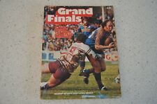 GRAND FINALS SYDNEY RUGBY LEAGUE VINTAGE 70'S PRODUCED RUGBY LEAGUE BOOK! EELS